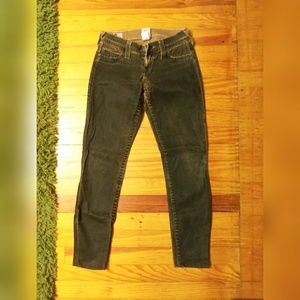 Ladies True Religion coated ankle jeans. Sz-24/26